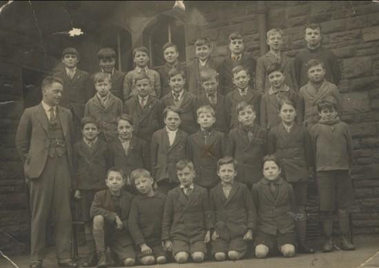 Blaina Central Boys' School, 1920s?