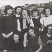 Hafod y Ddol School, Mauve House hockey team, 1948 to 1949