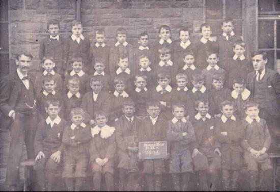 Blaina Central Boys School, Std IIa, 1901