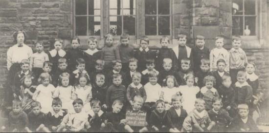 Blaina Central Infants, class 2, 1913