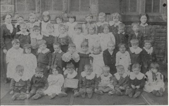 Blaina Central School, 1900