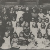 Blaina Central Girls School, 1913