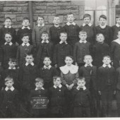 Blaina Boys' School, Std F, 1910