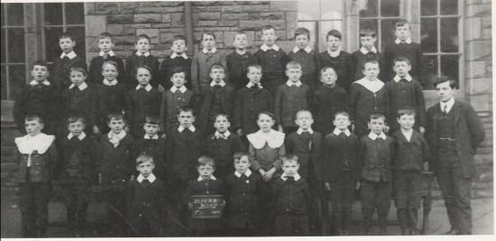 Blaina Boys' School, Std F, 1910