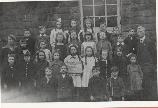 Glanyrafon School, Std 3A, 1920