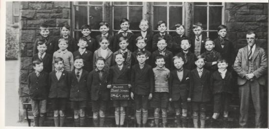 Blaina Boys' School, 1930