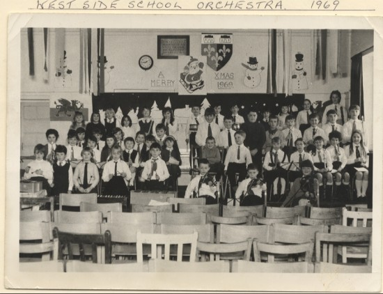 West Side School Orchestra, 1969