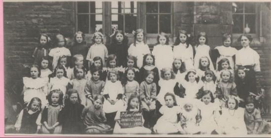 Blaina Central Infants, Class 1, 1913