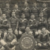 Glanyrafon School AFC, c. 1940