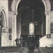 Interior view of St. Peter's church,