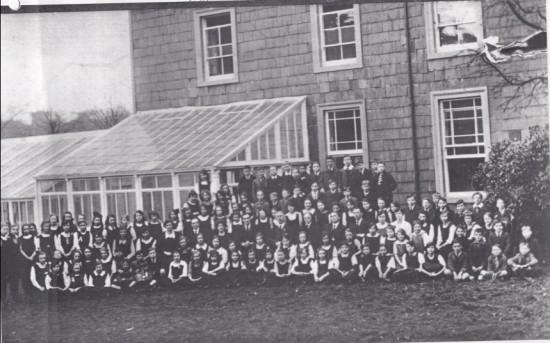 Hafod y Ddol School Opening, 1924