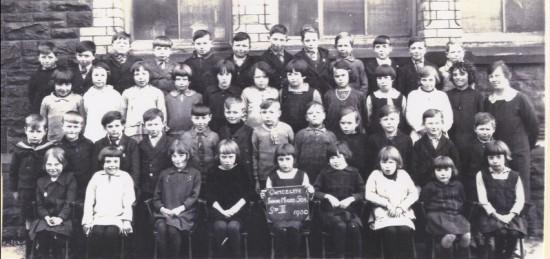 Cwmcelyn Junior Mixed School, Std II, 1930