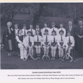 Nantyglo Grammar School (aka Hafod y Ddol) Hockey Team 1954 to 1955