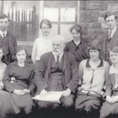 Garnfach School Staff, 1920s?