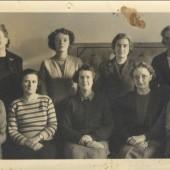 Blaina Infants School Staff, 1950s