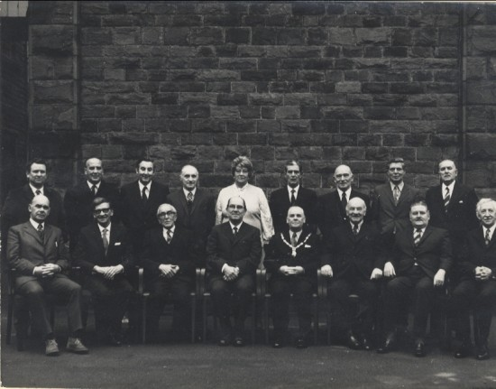 Nantyglo And Blaina Town Council 1964 65