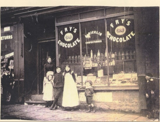 Nicklin's Sweet Shop. c. 1900