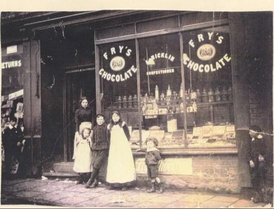 Nicklin's Sweet Shop. c. 1900