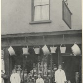 94 High Street in the 1920s.