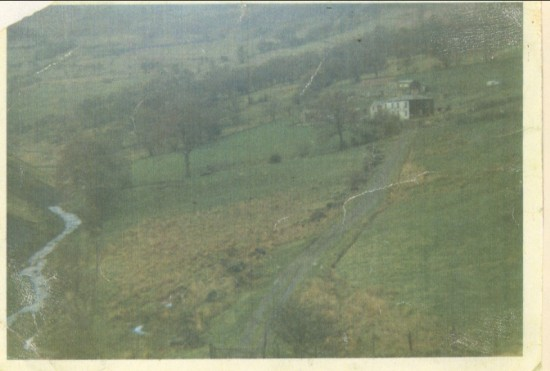CWM FARM CWMCELYN  demolished 1997