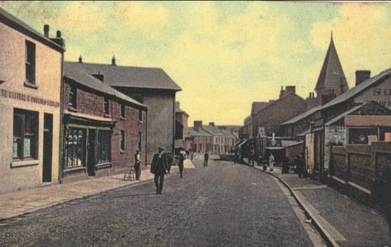 Blaina high street