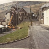 Demolishing Wesleyan Chapel