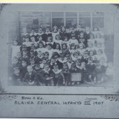 Blaina Central Infants III 1907