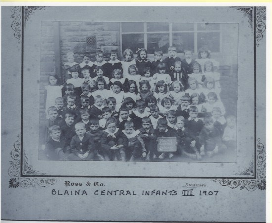 Blaina Central Infants III 1907