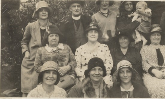 St. Peter's parishioners, c. 1933