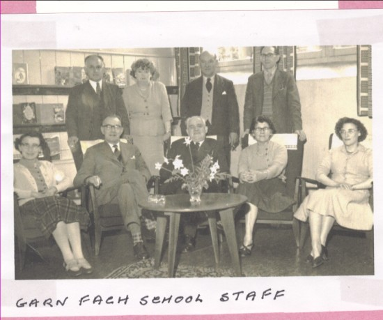 Garn Fach School Staff