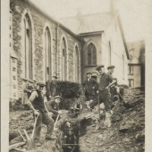 Workmen at Congregational Chapel, Blaina