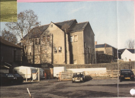 Rear of Wesleyan Chapel, Blaina
