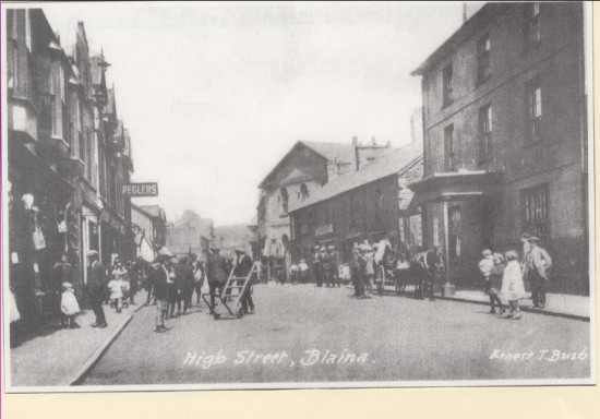 High Street, Blaina