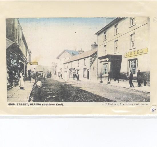 Blaina High Street (bottom end)