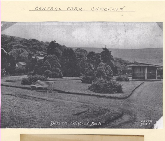 Blaina Central Park, Cwmcelyn