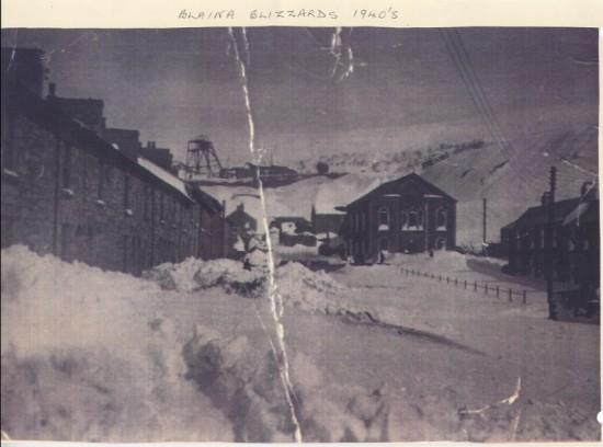 Blaina Blizzard, River Row