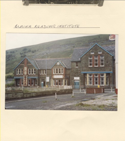 Blaina Reading Institute