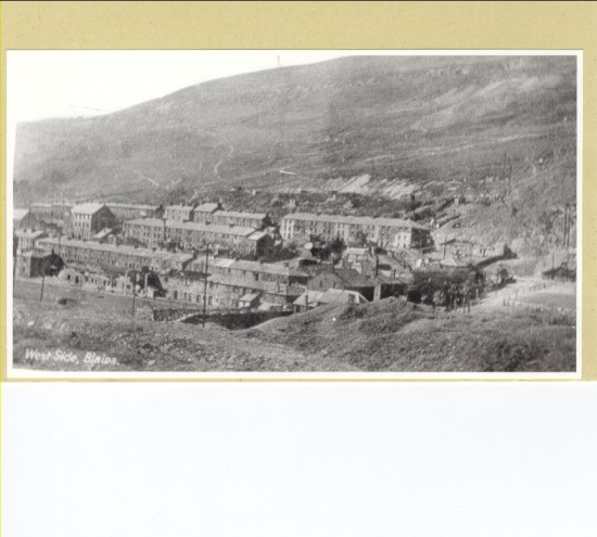 View of West Side, Blaina