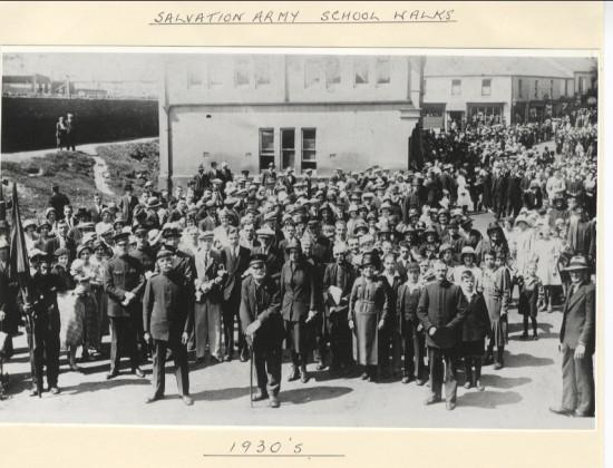 Salvation Army School Walk