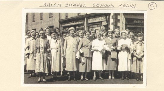 Salem Chapel Schoolwalks
