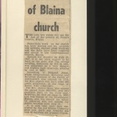 Last Days of Blaina Church (St. Peter's)