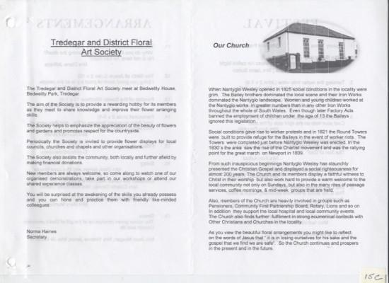 Nantyglo Wesleyan Chapel