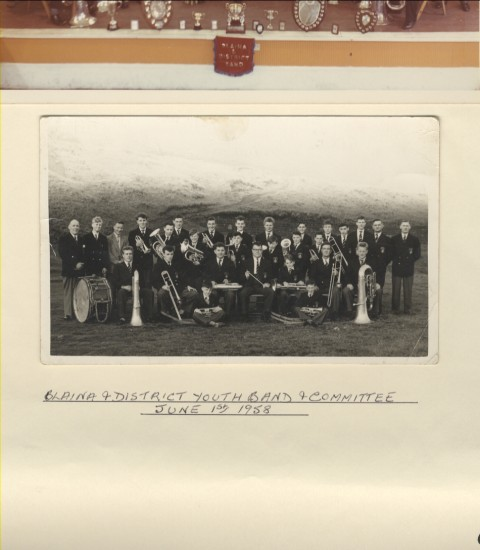 Blaina and District Youth Band and Committee