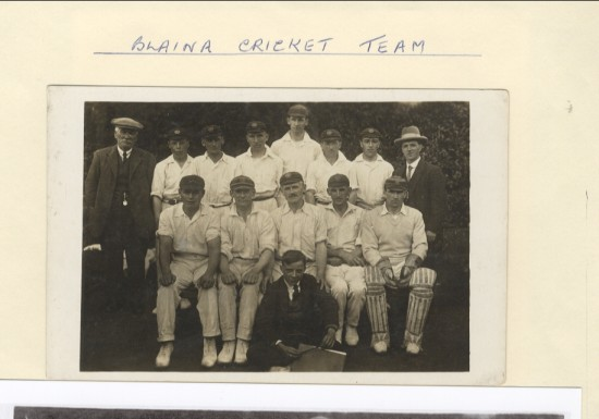 Blaina Cricket Team