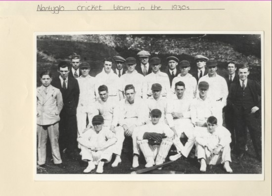 Nantyglo Cricket Team