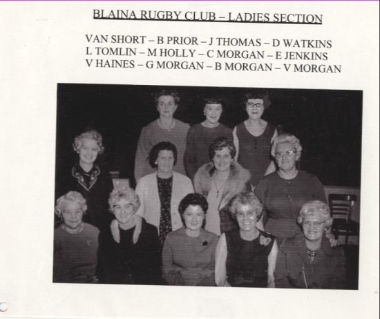 Blaina Rugby Club, Ladies Section