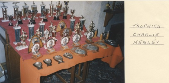 Trophies of Charlie Webley