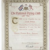 The National Flying Club (Certificate)