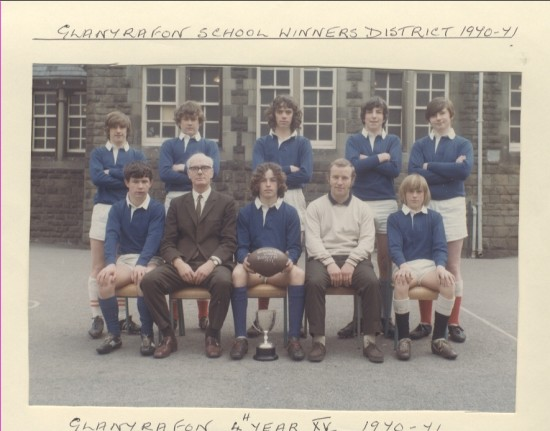 Glanyrafon School Winners District 1970 to 1971