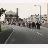 Parade through Brynmawr